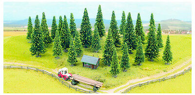 Noch 32525 25 Model spruce 40-100 mm Large package with 25 Trees Ovp