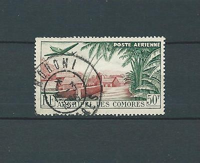 Comores - 1950 Yt 1 - Poste Aerienne - Timbre Obl. / Used