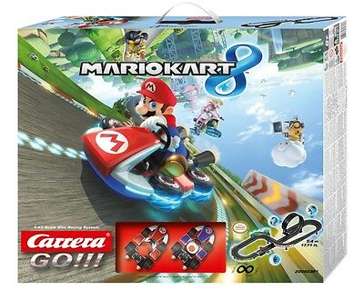 Carrera GO!!! Nintendo Mario Kart 8 1/43 Slot Car Set 62361 CRA62361