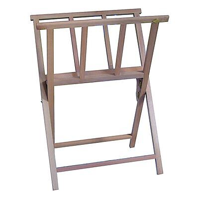 Daler Rowney Print Storage Rack Wooden A2 artists display stand printrack