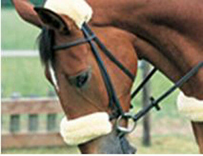 Quality 100% Pure Lambs Wool Noseband or Poll Cover for Bridle (Not Sheepskin)