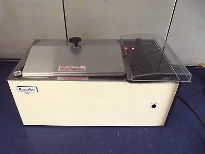 Precision Scientific Model 25 Shaking Water Bath~Works Good~Heats Up~S2656