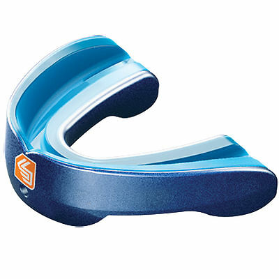Shock Doctor MouthGuard - Gel Nano Convertible Mouth Piece Pearl Blue - Adult