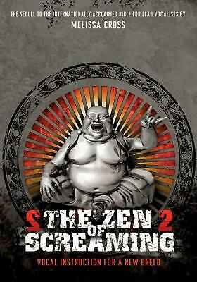 The Zen of Screaming 2: DVD by Melissa Cross (English) DVD-Video Book Free Shipp