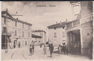 Collecchio Parma Piazza Animata 1918 Super !