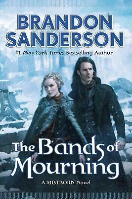 The Bands of Mourning by Brandon Sanderson Hardcover Book (English)
