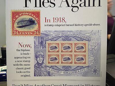 1 Package Inverted Jenny Plane 6 x $2.00 U.S. Postage Stamps  New In Package
