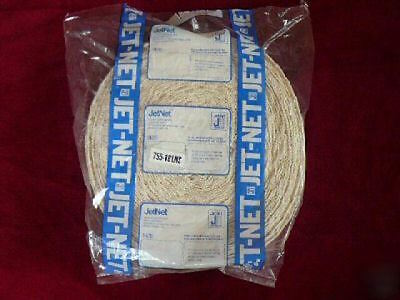 JETNET Meat Netting Roll, Size 18 150 ft roll cotton smoking cooking USDA approv