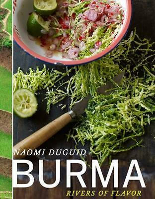 Burma: Rivers of Flavor by Naomi Duguid (English) Hardcover Book Free Shipping!