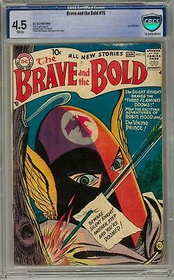 Brave and the Bold #15 CBCS 4.5 (W