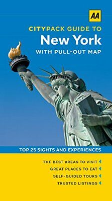 AA Citypack New York (Travel Guide) (AA CityPack Guides) by AA Publishing Book