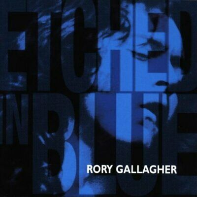Gallagher, Rory - Etched In Blue - Gallagher, Rory CD M9VG The Cheap Fast Free