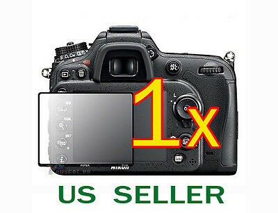 1x Nikon Digital SLR D7100 D7200 Camera Clear LCD Screen Protector Guard Shield