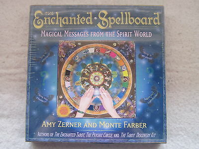 THE ENCHANTED SPELLBOARD Magical Messages from Spirit World Ouija - New