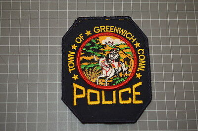 Town Of Greenwich Police Department Connecticut Patch (B17)