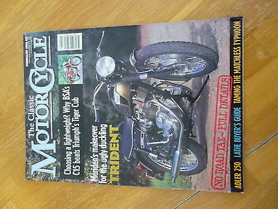 The Classic Motorcycle Mag Feb 1996 Adler 250 Triumph Trident Matchless Typhoon