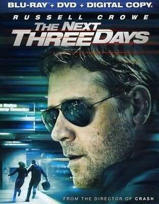 The Next Three Days [New Blu-ray] With DVD, Widescreen, Ac-3/Dolby Digital, Di