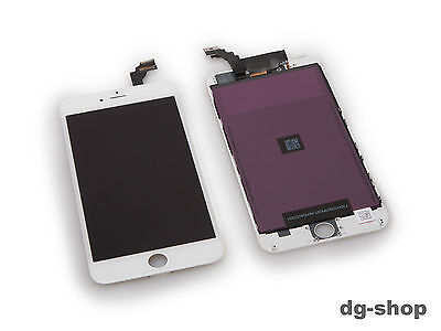 Original iphone 6 Plus Display LCD Touch Glas Touchscreen Digitizer Komplet Weiß