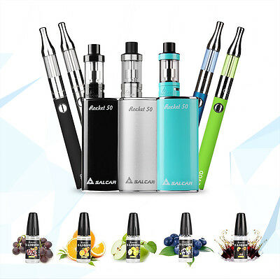 EGo-T CE4/EVOD Mini Protank Elektro Starterset Rocket 50 Mod Kit & 50ml E Liquid