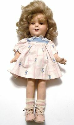 """13"""" Ideal Composition Shirley Temple Doll"""