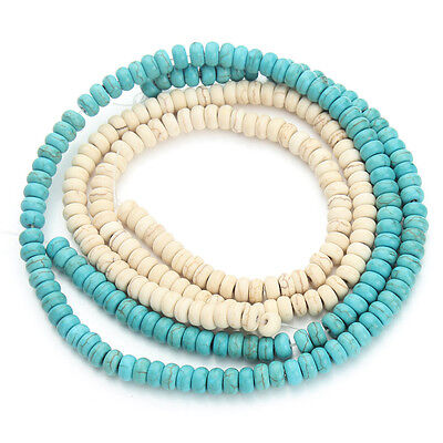 Wholesale 200,100 Howlite Turquoise Loose Round Spacer Beads  6mm ,Hole Size 2mm