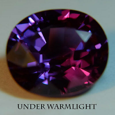 9.90ct.AWESOME RUSSIAN COLOR CHANGE ALEXANDRITE OVAL GEMSTONE