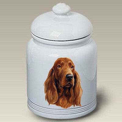 Ceramic Treat Cookie Jar - Irish Setter (LP) 45063
