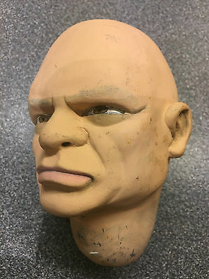 The Hood solid plaster puppet head Gerry Anderson Thunderbirds
