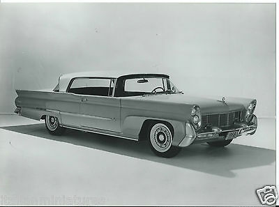 Ford Lincoln Coupe 1958 Original Press Photograph Excellent Condition