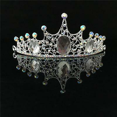 Wedding Bridal Bridesmaid Pageant Crystal Rhinestone Tiara Crown Headpiece