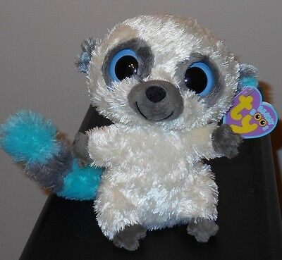"""Ty Beanie Boos ~ CLEO the 6"""" UK Exclusive Bush Baby ~ Authentic MWMT'S ~ RARE"""