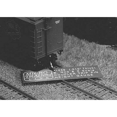 N Scale Trip Pin Height Gauge - Micro-Trains Line #1056
