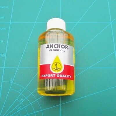 Clock Oil Mantel and Wall Clocks Anchor Brand 20ml bottle