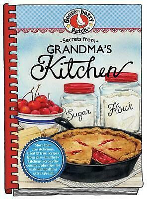 Secrets from Grandma's Kitchen by Gooseberry Patch Hardcover Book (English)