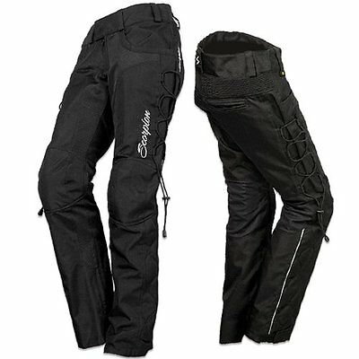 Scorpion Womens Savannah II Textile Pants 2013 X-Large Black
