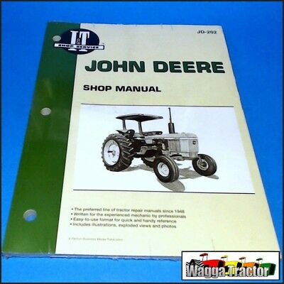 JD202 Workshop Manual John Deere 2040 4040 Tractor & 4240 4440 plus JD 4640 4840