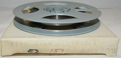 """Chuck Berry-""""Roll Over Beethoven"""" Super 8mm Film, 50 ft,"""