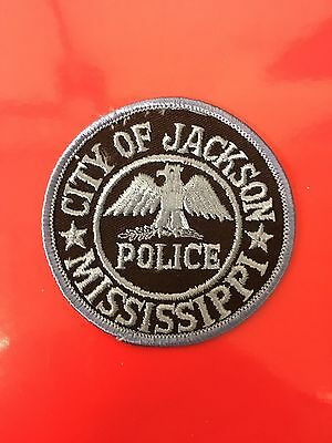 City Of Jackson  Mississippi  Police  Small Round Patch