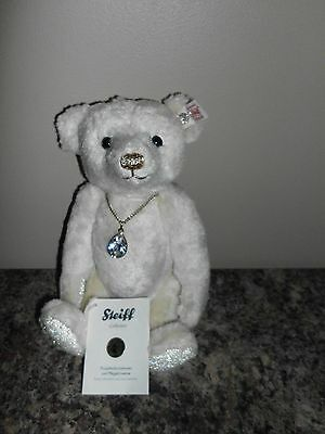 Steiff Diamond Swarovski Teddy Bear  EAN 035715  2012 Limited Edition Retired