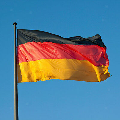 5ft x 3ft Germany Flag German National Flags Europe Large Banner Polyester