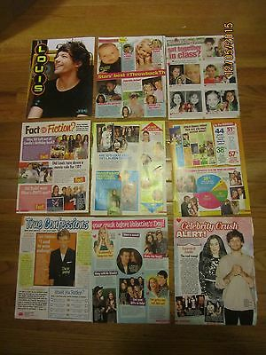 RARE Louis Tomlinson Posters & Articles! One Direction Niall Horan Liam Payne