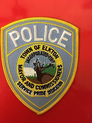 Town Of Elkton Maryland Police  Shoulder Patch