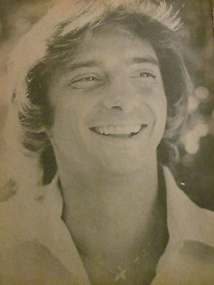 Barry Manilow, Full Page Vintage Pinup