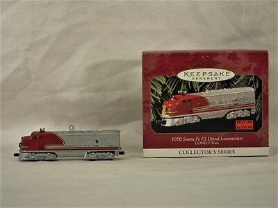 COLLECTIBLE Hallmark Keepsake Ornament - 1950 Sante Fe F3 Locomotive 1997 #2