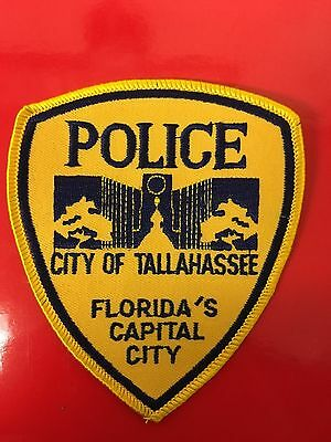 Tallahassee  Florida  Police  Shoulder Patch