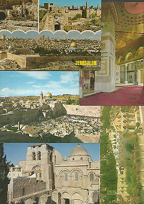 50 x vintage post cards: different sites,   israel 50's and onwords   # 50249