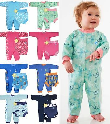 Splash About Warm In One Fleece Wetsuit and Matching Neoprene Happy Nappy