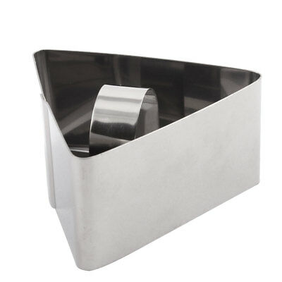 Home Bakery Stainless Steel Triangle Cake Biscuit Cookie Cutters Mould