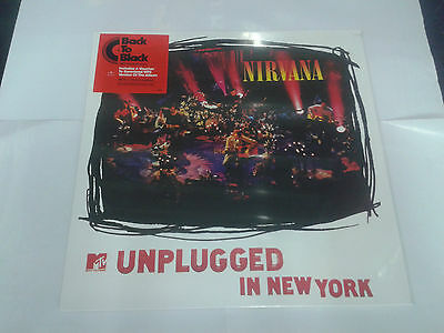 LP NIRVANA mtv unplugged in new york  VINILE