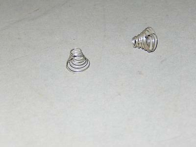 Lionel Part -Tcl-45 - Pickup Roller Conical Spring (2) Pieces - New- H7